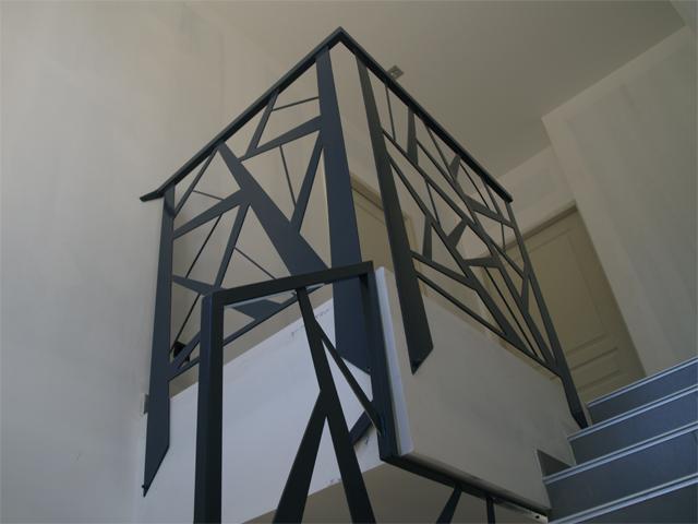 esprit cubik cr ation metal didier sicard ferronnerie d 39 art. Black Bedroom Furniture Sets. Home Design Ideas